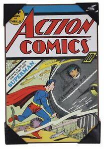 Image is loading Superman-Action-Comics-19-034-x-13-034-  sc 1 st  eBay & Superman Action Comics 19