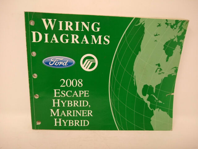 2008 Ford Escape Mariner Wiring Diagrams Oem