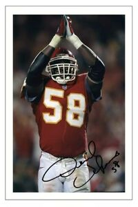 8f3ef80540c Image is loading DERRICK-THOMAS-KANSAS-CITY-CHIEFS-SIGNED-PHOTO-AUTOGRAPH-