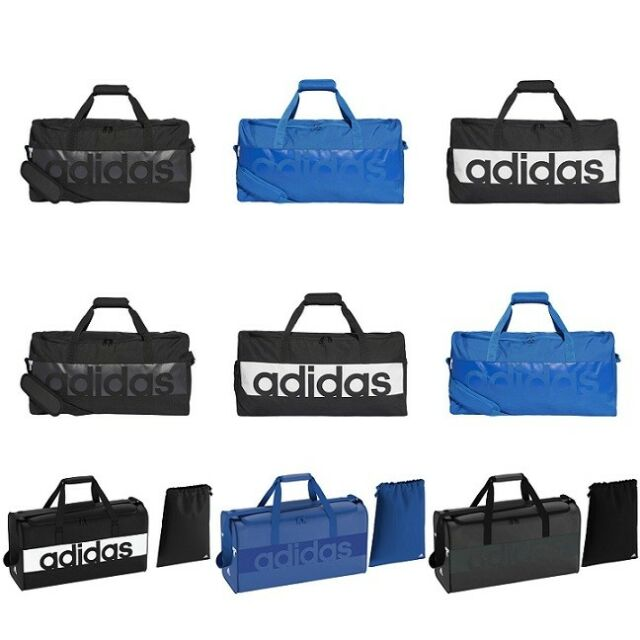 Adidas Mens Womens Tiro Duffle Bag Sports Team Gym Duffel Travel Holdall f803117f03f08