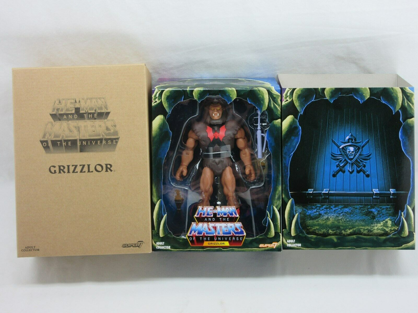 MOTUC,FILMATION GRIZZLOR 2.0,Masters Of The Universe Classics,Sealed,MOC,He  Man  limite acheter