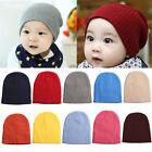Unisex Newborn Baby Boy Girl Toddler Infant Cotton Knitted Soft Hat Cap Beanie