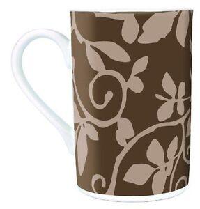 Auerhahn-Be-Happy-Kaffeebecher-034-Floral-braun-034-Neu-15-90