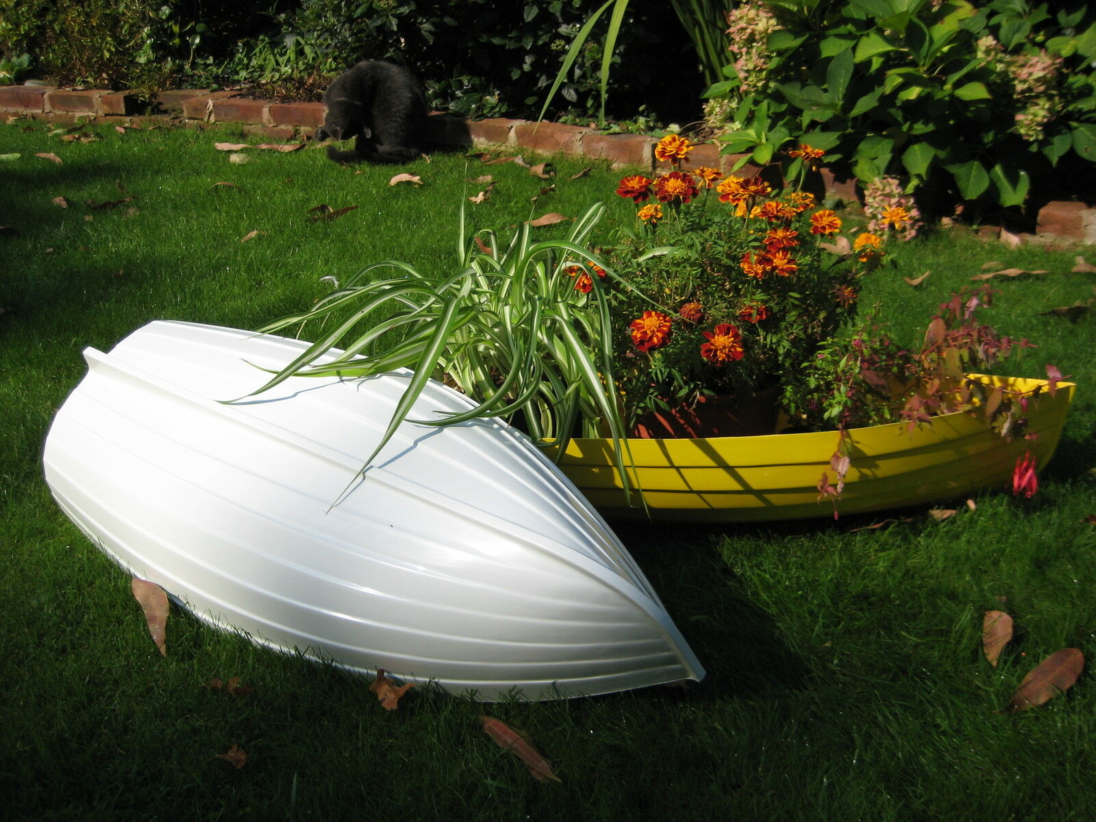 Grp Jardín clinker barco plantador