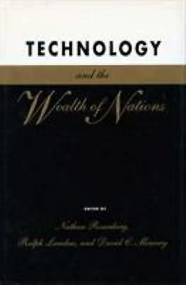 Technology and the Wealth of Nations Hardcover Nathan Rosenberg