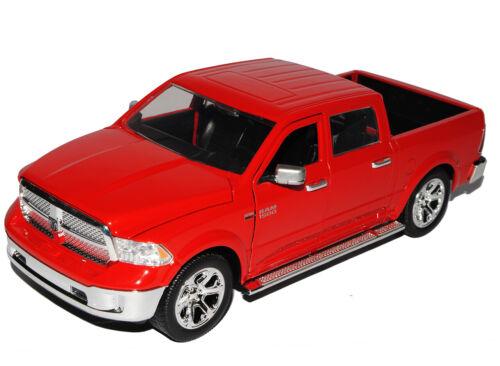 Dodge Ram 1500 Pick-Up Rot 4 Generation ab 2009 Ab Facelift 2014 1//24 Jada Mo..