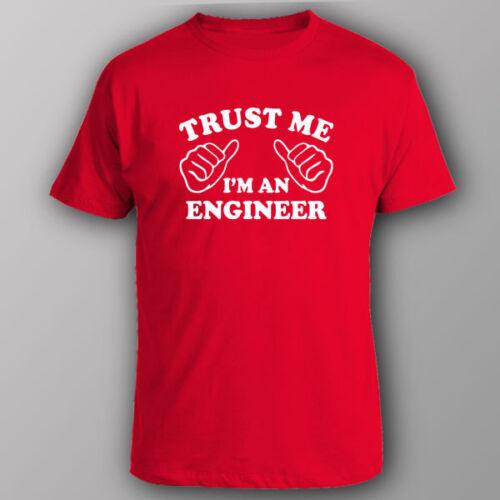 Trust Me Im an Engineer Toddler Girls T Shirt Kids Cotton Short Sleeve Ruffle Tee