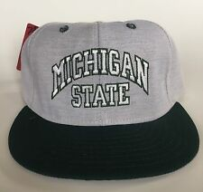 Vintage Pro-Line NOS Michigan State University Spartans Fitted Hat Cap 7 3/8