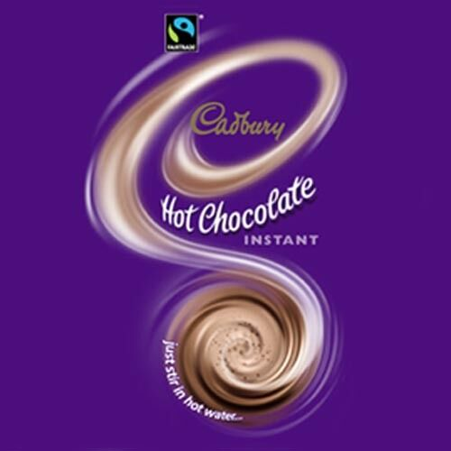 Cadbury Hot Chocolate 73mm In Cup Drink Klix Eurocup Drench Machines 25 Cups