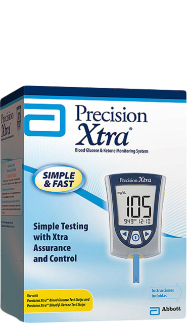 Precision Xtra  Blood Glucose and Ketone Monitoring System M