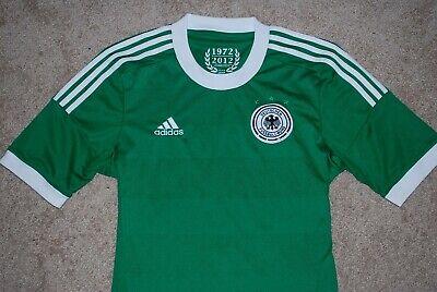 Men's Adidas Deutscher German Green Soccer Jersey (Small) ClimaCool | eBay