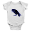 Infant-Baby-Rib-Bodysuit-Jumpsuit-Romper-Clothes-Beautiful-Black-Crow-Raven-Bird thumbnail 12