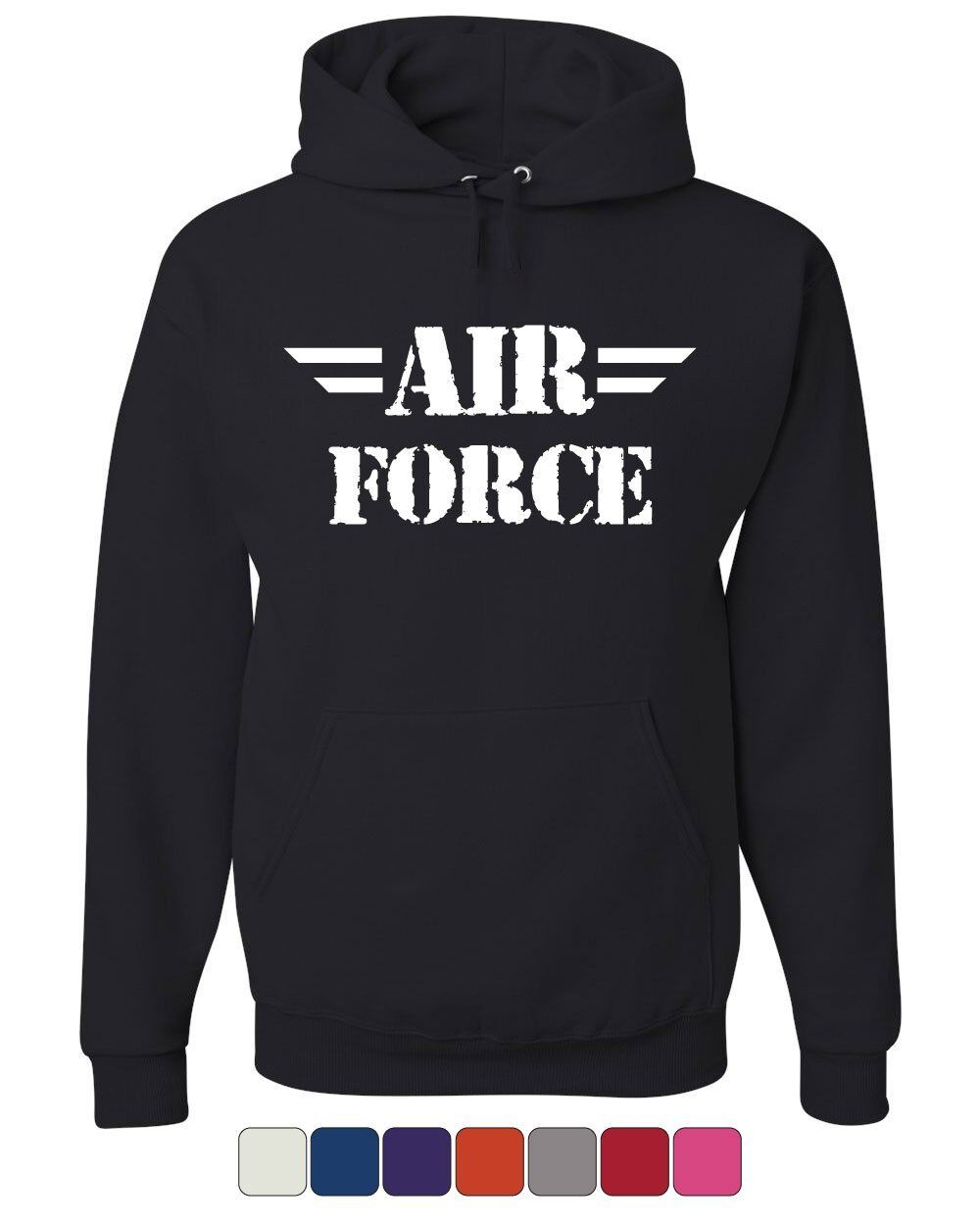 Air Force Hoodie Military Veteran POW MIA Air Force Mom Sweatshirt