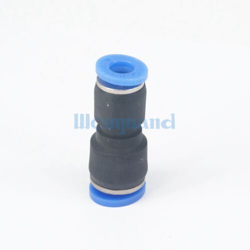 10pcs Fit Tube O//D 6mm Turn to 8mm Pneumatic Push in Reducing Reducer Connector