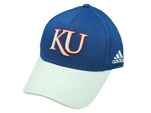 NCAA Kansas Jayhawks Youth Size (8-20) Hat Cap One Size Fits Most Adidas New