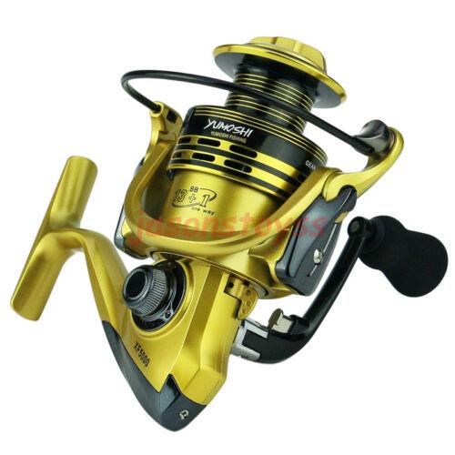13+1 BB Bearing Saltwater Freshwater Spinning Fishing Reel Right Left XF UK