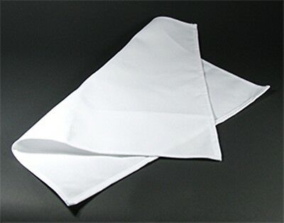 WHITE CREAM NAPKINS - TABLE LINEN - POLY COTTON - 4-PACK - MANY SIZES - BARGAIN!