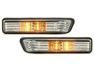 CRYSTAL SIDE INDICATORS REPEATERS BMW E36 3 SERIES SALOON COUPE ESTATE COMPACT