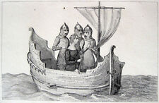 Navigation Segelschiff Lancelot du Lac Vulgata-Zyklus Artussage Artus 14.Jahrh.