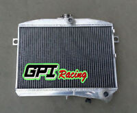 Fit Volvo Amazon P1800 B18 B20 Engine Gt 1959-1970 M/t Aluminum Radiator
