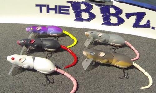 #SRT30Z1BRN SPRO BBZ-1 Rat 30 leurre lure Couleur Brun Neuf Free USA Livraison