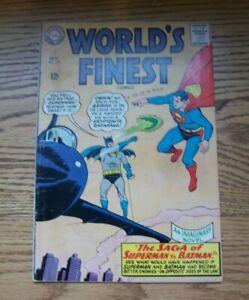 World's Finest Comics #153 Batman Slaps Robin Panel! DC Comics 1965 FN???