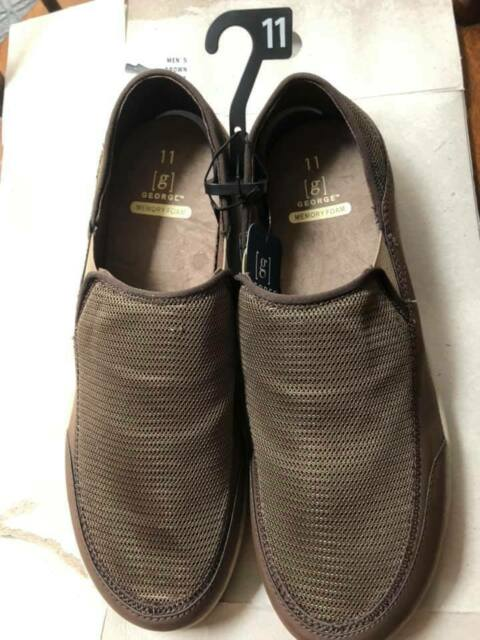 Canvas Memory Foam Slip-on Shoe