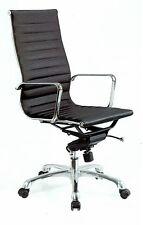 Chefsessel Chef Bürostuhl Bürosessel Sessel Drehstuhl Leder schwarz