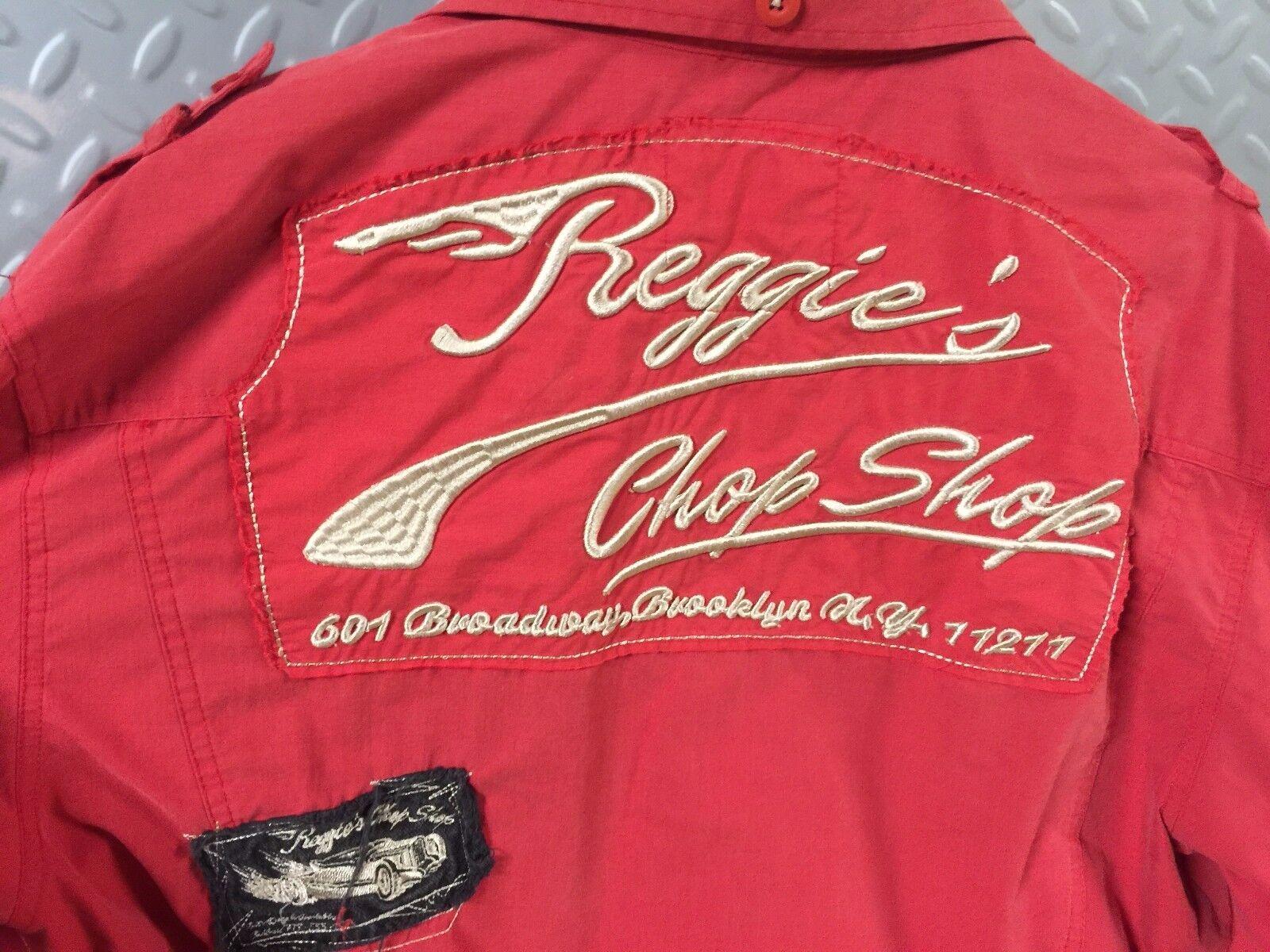 d3a221fb 18706 Mens RAT Reggie's Chop Shop Button Front SHIRT L Large ROD  nssaec4-Casual Shirts & Tops