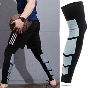 5b7926ebfc8 Image is loading Men-Women-Compression-Socks-Knee-High-Support-Stockings-