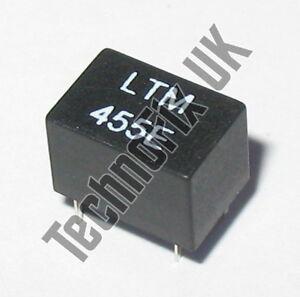 LTM455EW-15kHz-wide-455kHz-IF-ceramic-filter-replaces-ALFYM455E-CFWM455E-3-2
