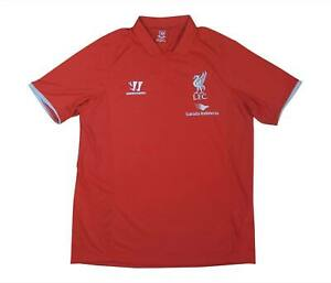 Liverpool 2014-15 ORIGINALE POLO (eccellente) L soccer jersey