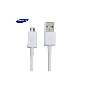 Original-Samsung-USB-Schnellladegeraet-Ladekabel-Daten-Kabel-1-5m-ECB-DU4EWE-Weiss