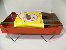 Vintage Nos Porta Grill Charcoal Grill Portable Barbecue Bbq Complete Charcoal