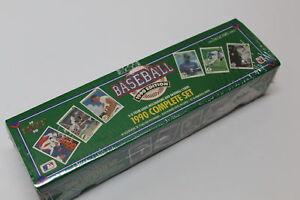 Details about 1990 Upper Deck Baseball Cards Complete Set 99160 Sealed