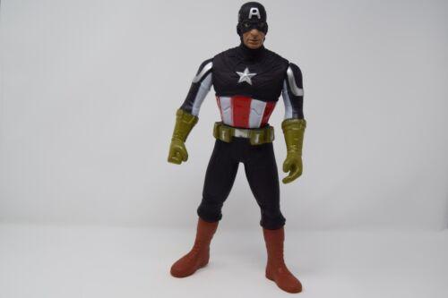 "12/"" grandi CAPITAN AMERICA Action Figure-Poseable Figurina-Avengers Serie"