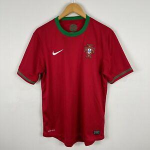 Nike Portugal Football Soccer Jersey Mens Medium Short Sleeve