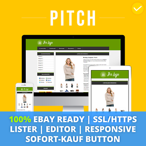 PITCH GREEN  Template 2018 Responsive vorlage Auktionsvorlage SSL//HTTPS