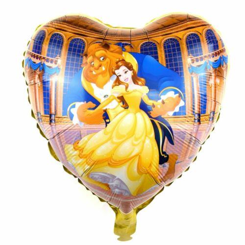 Helium Folienballons Disney Märchen Film die Schöne und das Biest balloon
