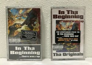 In-Tha-Beginning-There-Was-Rap-Originals-2-NEW-Cassette-Hardcore-Gangsta-Hip-Hop