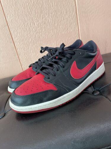 Nike Air Jordan 1 Low OG Sz11 BRED Travis Scott Of
