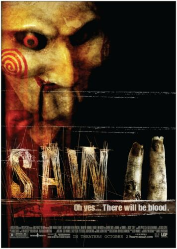 SAW II Classic Large Movie Poster Art Print A0 A1 A2 A3 A4 Maxi