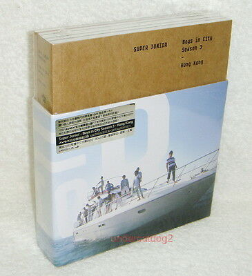 Super Junior Boys In City Season 3 Taiwan Photobook+DVD