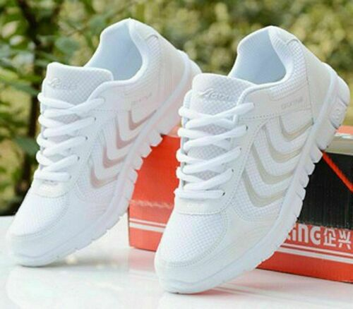 Women/'s Casual Walking Shoes Sport Slip-On Running Tennis Sneakers Loafers Gym