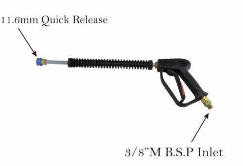Pressure Washer Quick Release Gun Lance /& 3//8F Hose