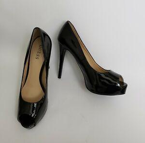 Guess Womens Shoes Pumps Heels Peep Toe