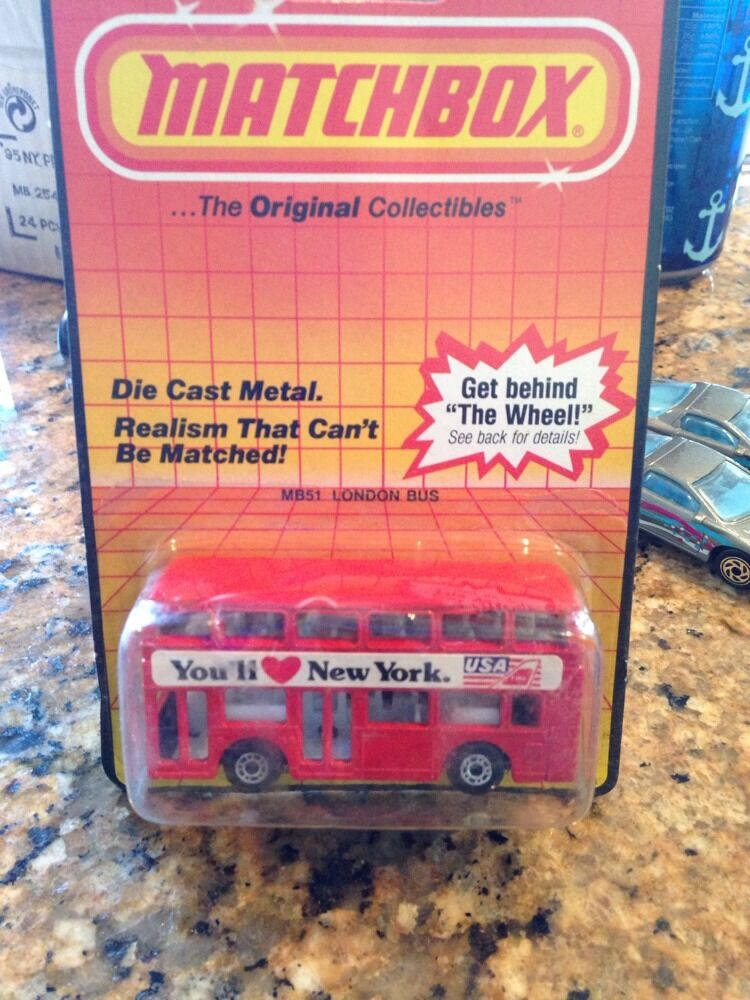 Matchbox Special Limited Edition You'll Love New York London Bus