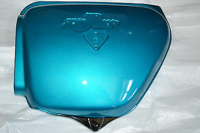 HONDA NOS CB750 K1 Blue Green Left Side Cover 1971 CB 750 83600-341-701AZ