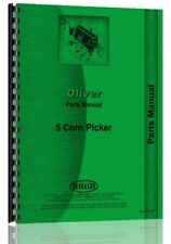 Parts Manual Oliver 5 Corn Picker