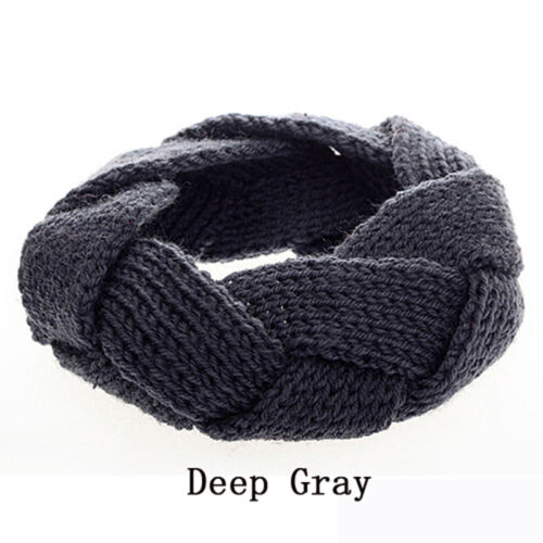 Crochet Twist Knitted Headwrap Winter Warmer Hair Band for Lady Good-looking